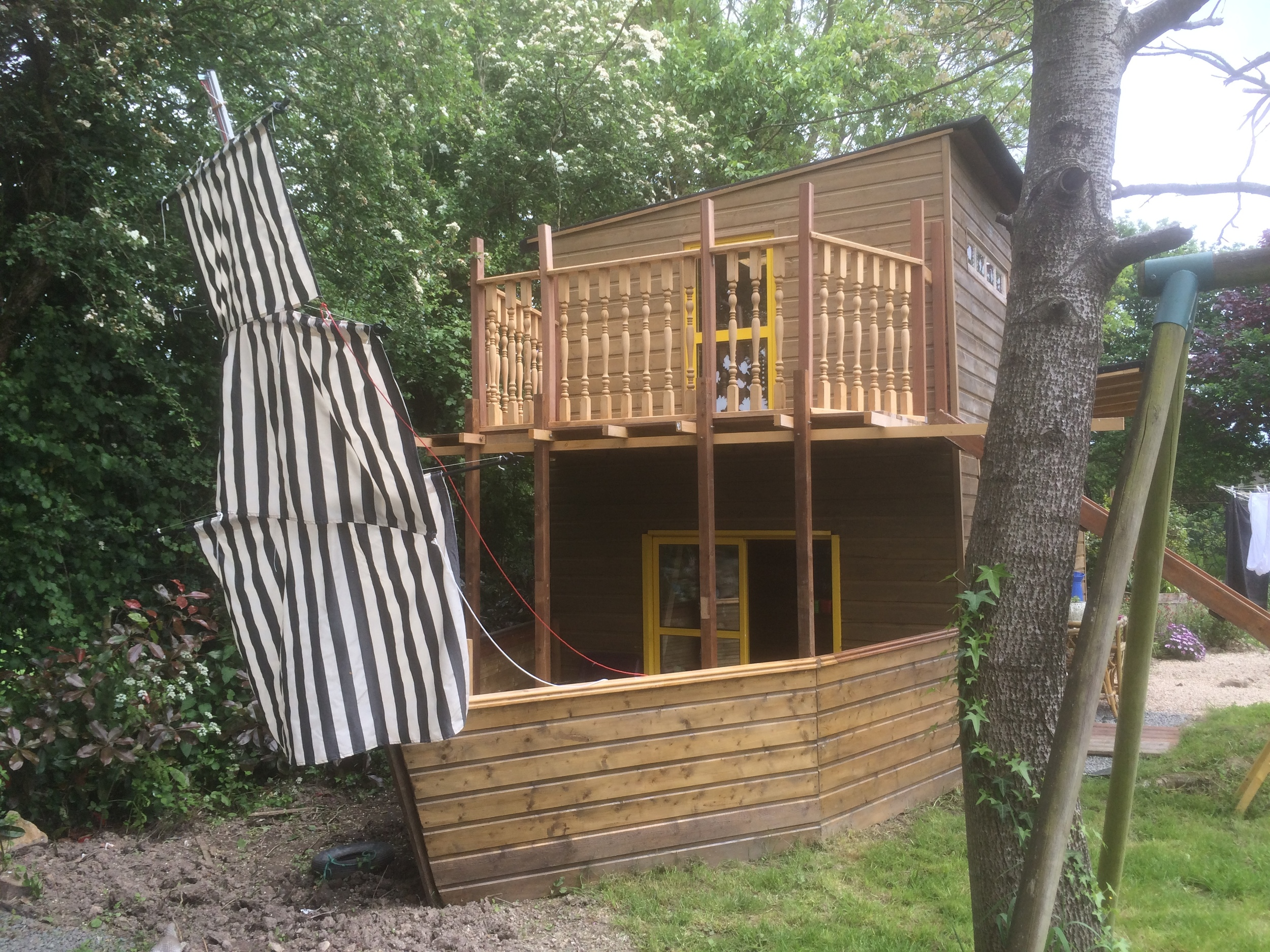 Boaty Mac Boathouse Children's Play Area