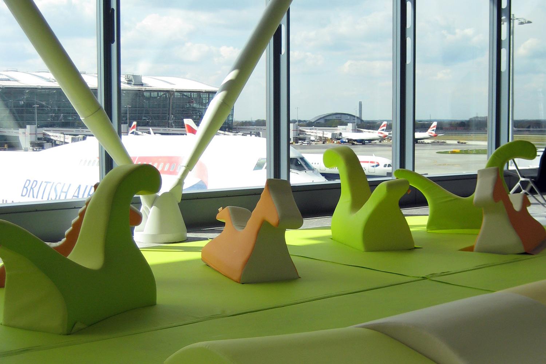 Aree per l'infanzia a Heathrow