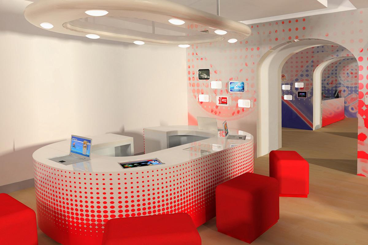 Concept Store Telecom-Tim, Milano/Roma