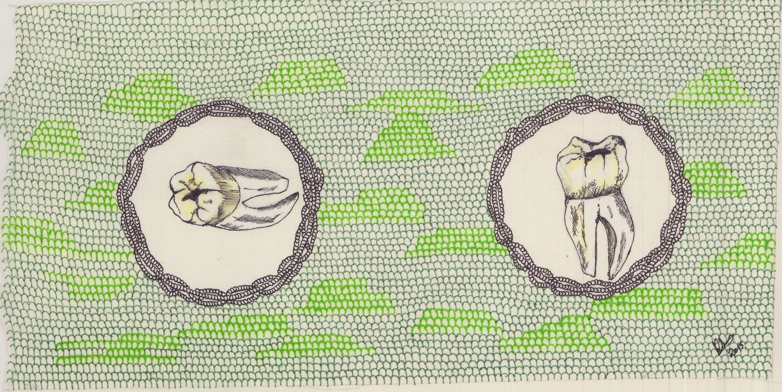 Rohini Sen, Thoughts that fill a Cavity, 2015,more  here .