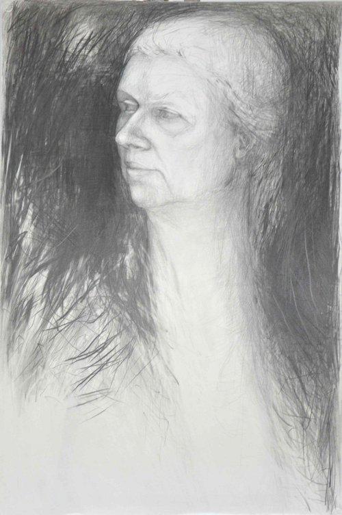 Blyant på papir 110 x 73