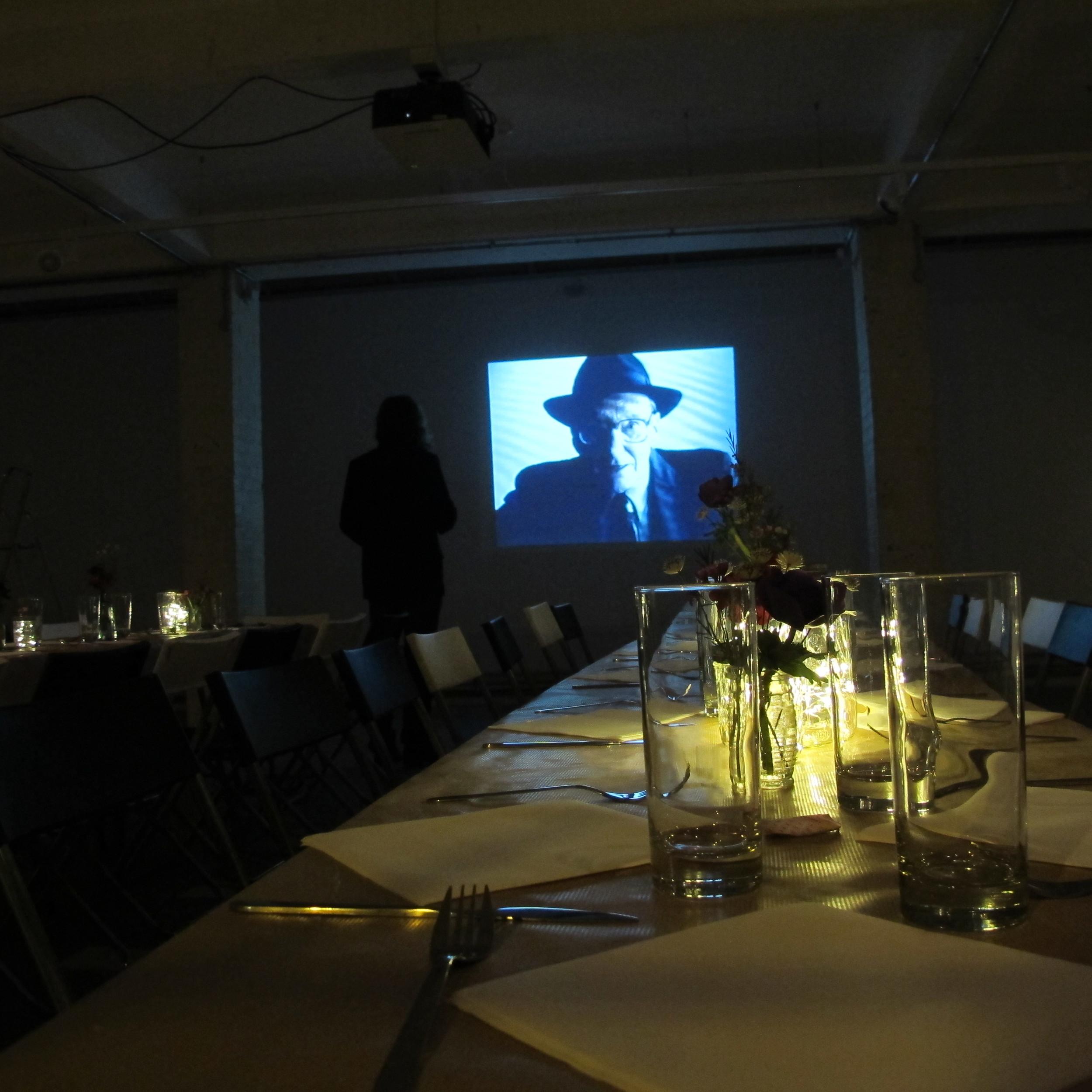 William Burroughs Dinner.JPG