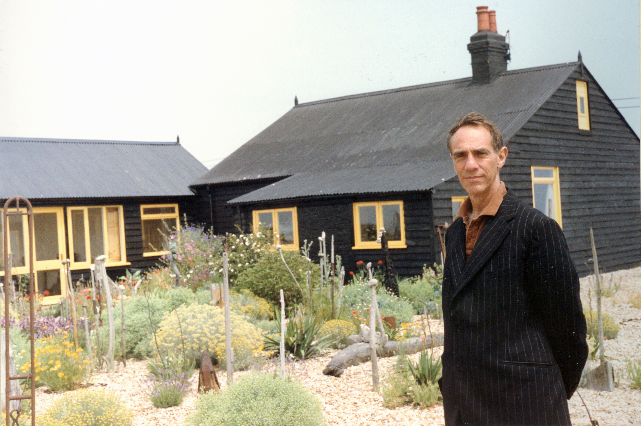 Photograph of Derek Jarman. Image Courtesy of Keith Collins.