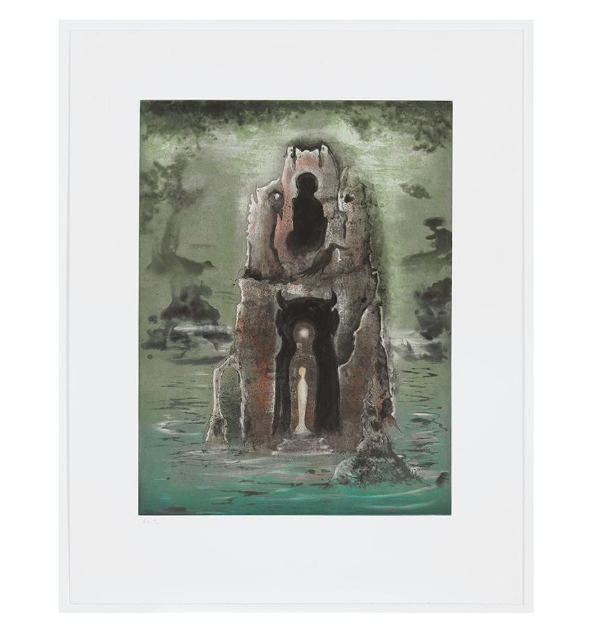 Leonora Carrington, The Memory Tower, 1995