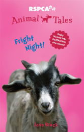 Animal Tales 6: Fright Night   Visitors at a neighbourhood guesthouse have been complaining about spooky noises at night. The owners are worried. Is it ghosts? It's starting to affect business, but what can they do to stop it? Cassie and Ben decide to engage in a bit of late-night detective work to uncover the source of the ghostly disturbance.