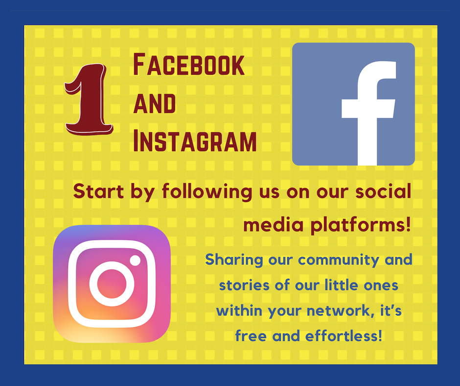 Follow us on our social media platforms!
