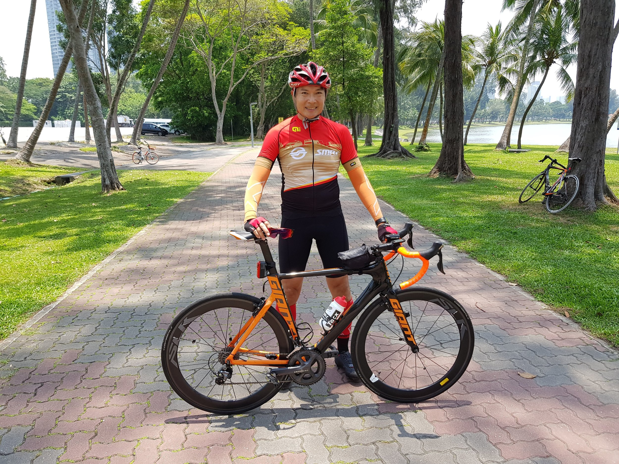 Mr Henry Lim will be riding his 7th Edition of Ride for Rainbows this year