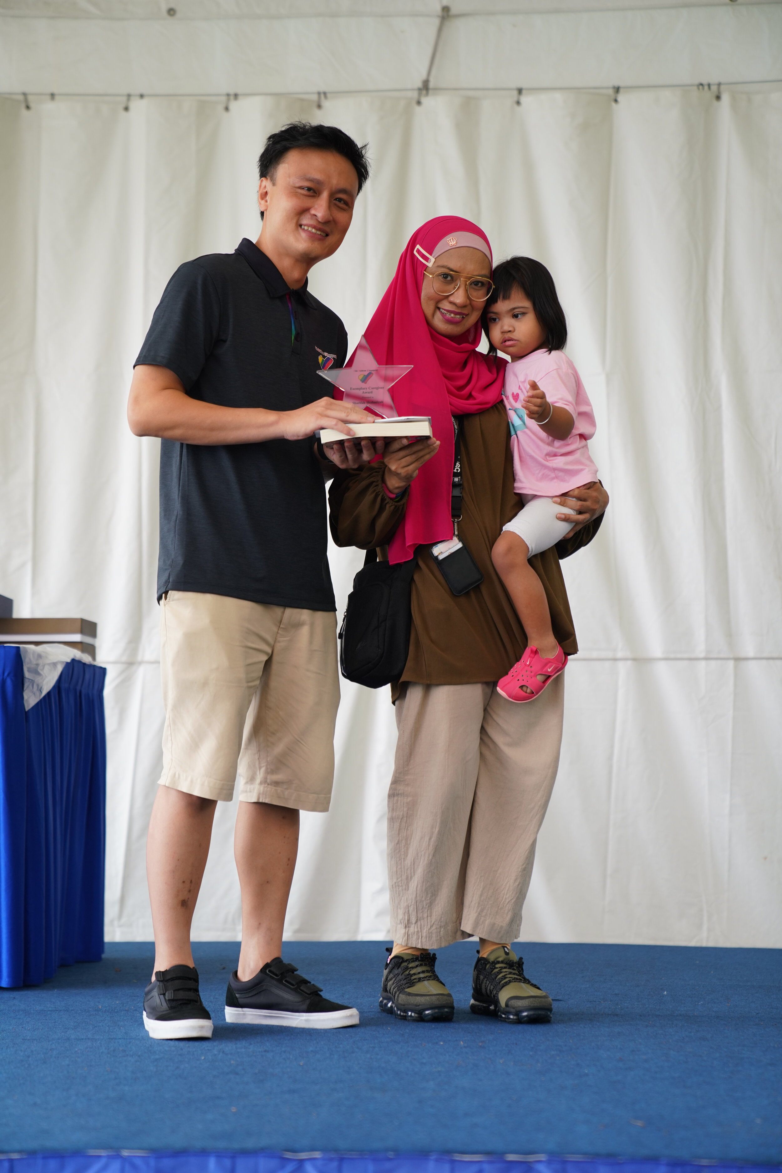 Mdm Sharifah Shahariyah, mother of 5-year-old Alya Insyirah