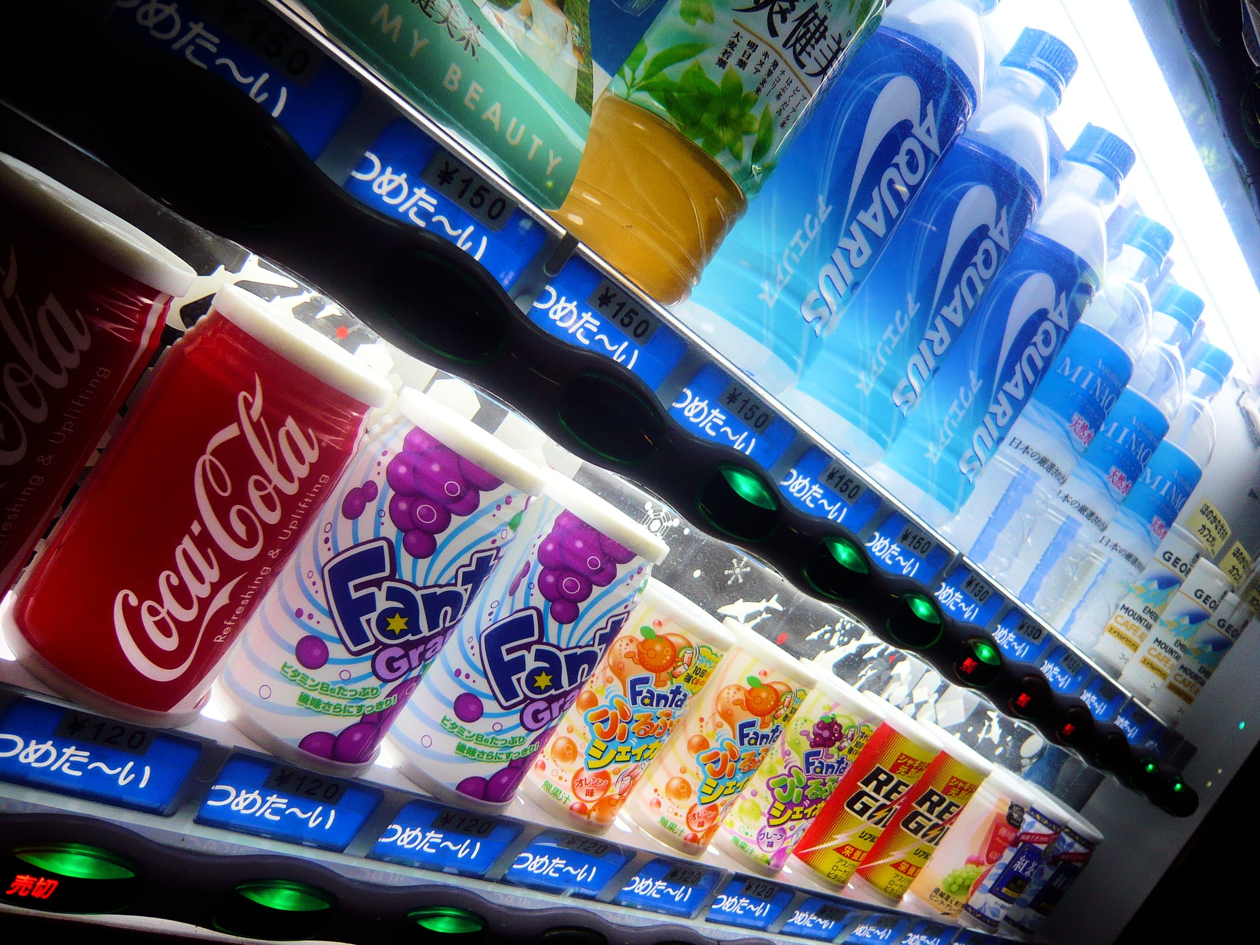 Fancy drinks are so readily available in Japan, it is very easy to drink a lot of them!