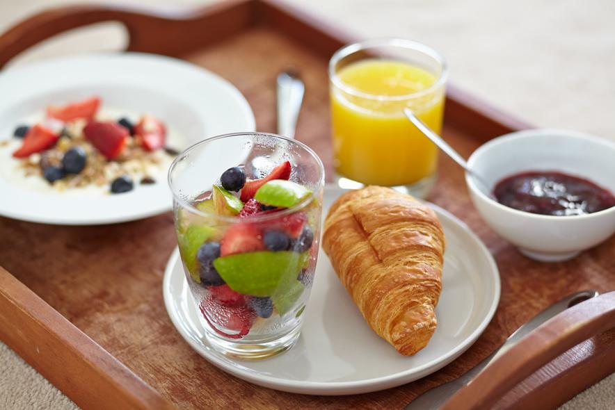 I love croissants for breakfast!