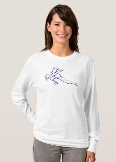 Volleyball Dig Girl T-Shirt