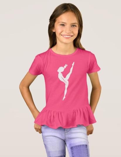 Gymnast High Kick T-Shirt