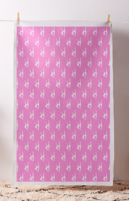 Gymnastic Split Pink Fabric
