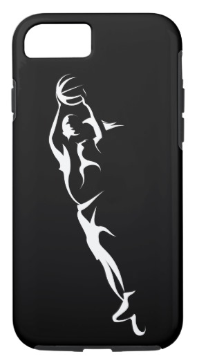 Woman Basketball Layup iPhone Case