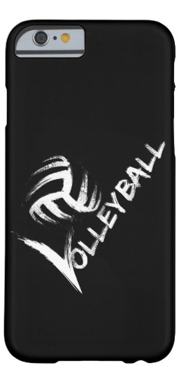 Volleyball Grunge Streak iphone case