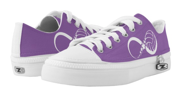 Volleyball Star Infinity Low-Top Sneakers