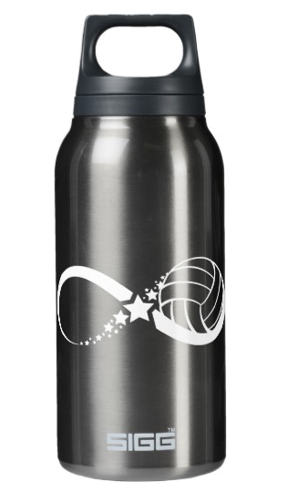 Volleyball Star Infinity Insulated Water Bottle