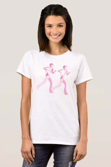 Pink Ribbon Runners T-Shirt
