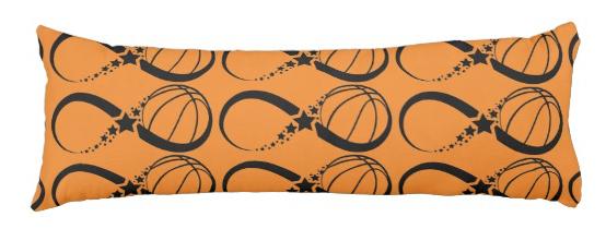 Basketball Star Infinity Long Pillow
