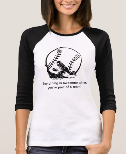 Awesome Softball Slide Home Softball Jersey T-Shirt