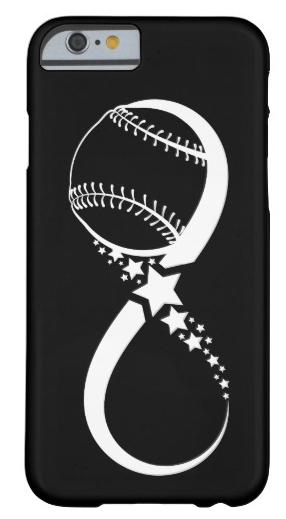 Softball Star Infinity iphone Case
