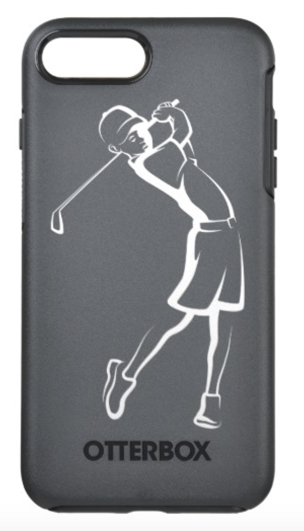 Boy Golfer OtterBox Symmetry Phone Case