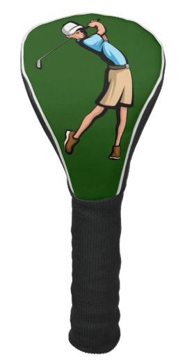 Golfer Boy Golf Head Cover