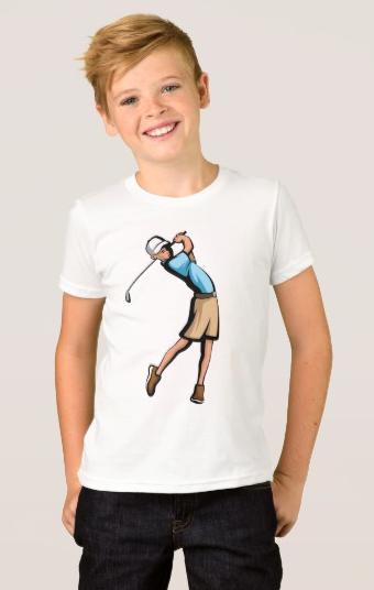 Golfer Boy T-Shirt