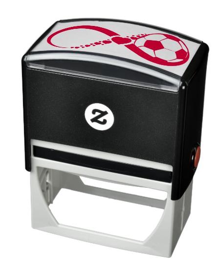 Soccer Love Infinity Self-inking Stamp