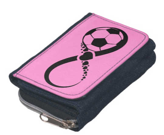 Soccer Love Infinity Wallet Coin Purse