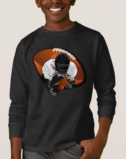 Football Diving Catch T-Shirt