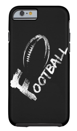 Football Grunge Streaks Tough iPhone 6 Case
