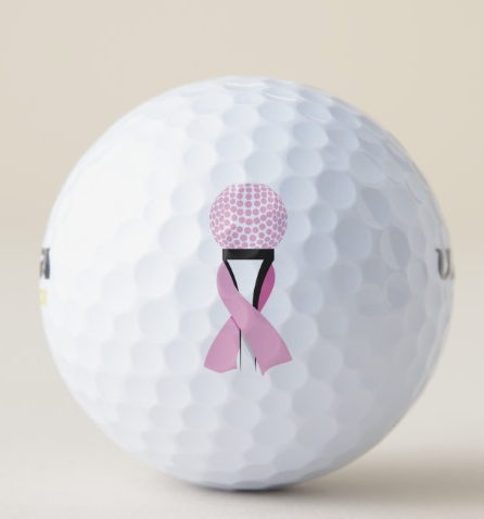 Golf Breast Cancer Golf Balls