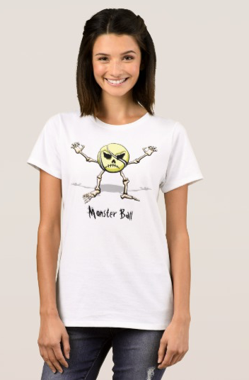 Tennis Monster Ball T-Shirt