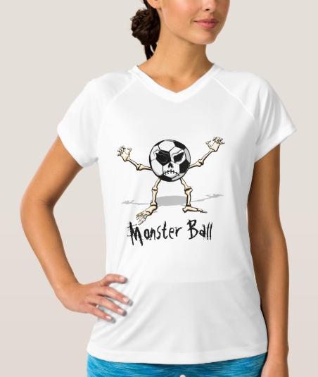 Monster Halloween Ball Women's V-Neck T-Shirt