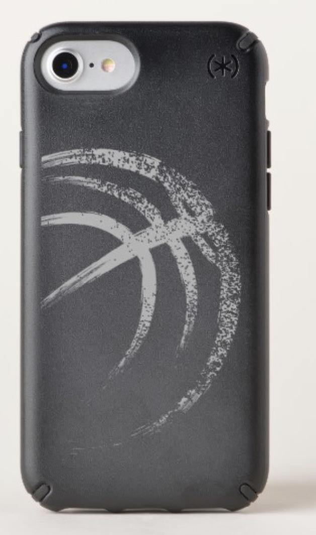 Grunge Style Basketball Design Speck iPhone Case