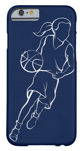 Basketball Girl Dribble Barely There iPhone 6 Case