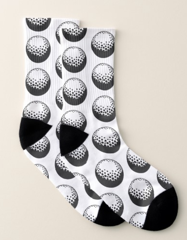 Golf Ball Socks