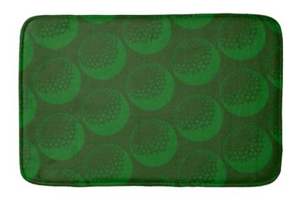 Golf Ball Bathroom Mat