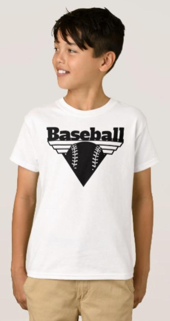 Baseball Triangle Shield T-Shirt