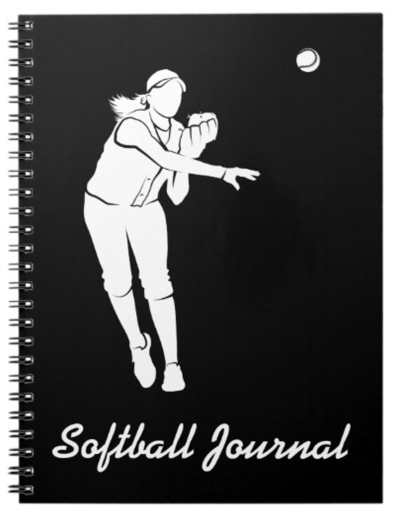 Softball Throw Journal
