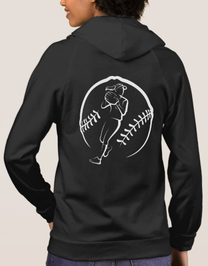 Softball Fielder Hoodie