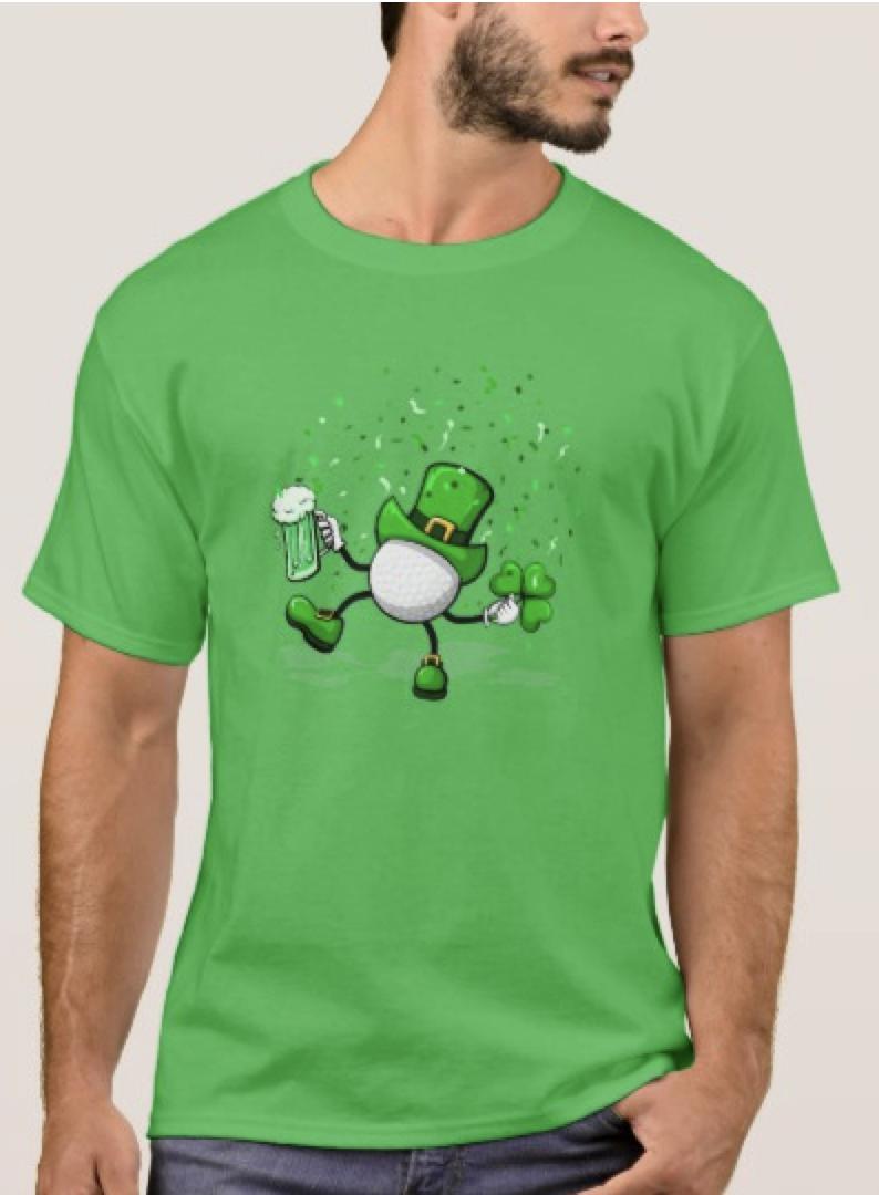 Golf Leprechaun T-Shirt