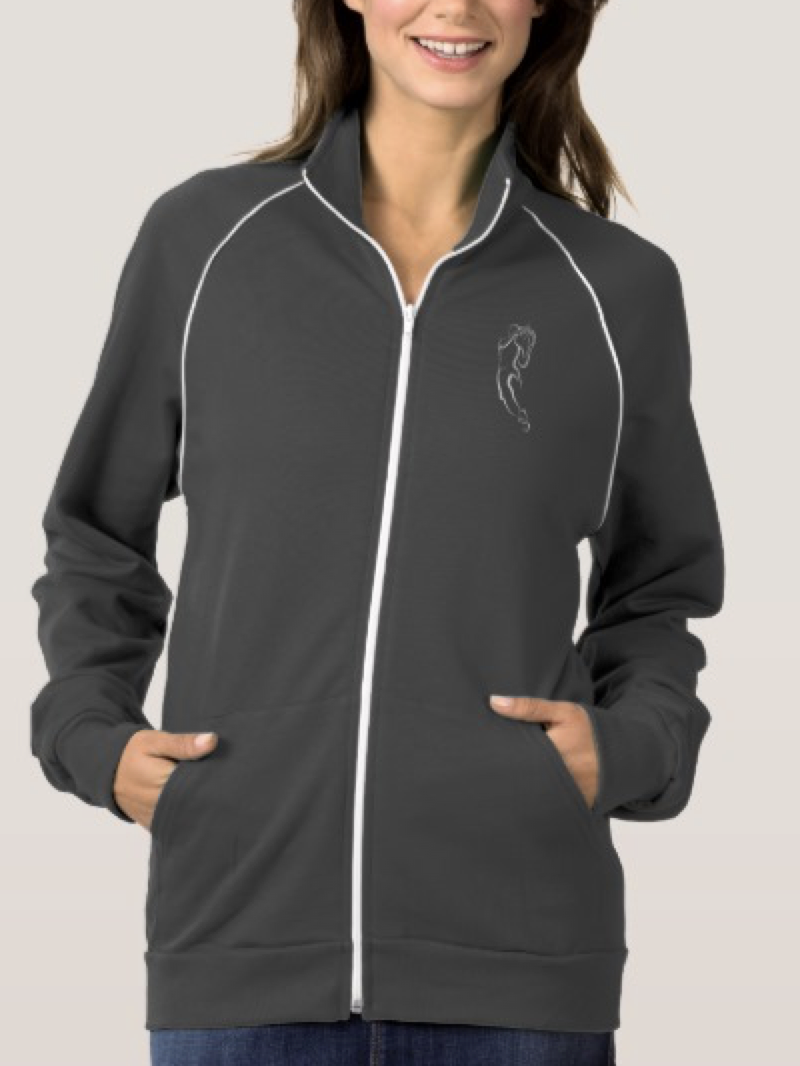 Woman Basketball Player Driving to the Basket Jacket