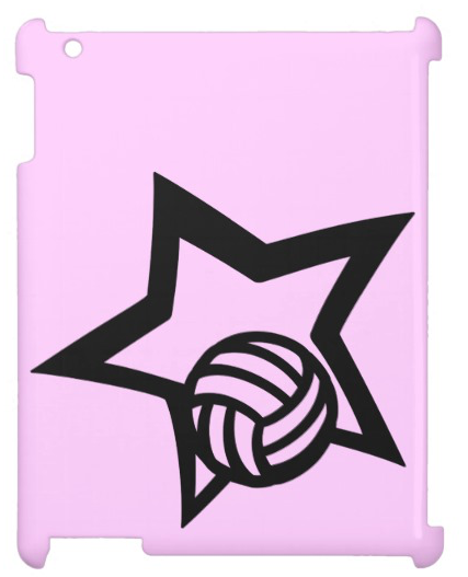 Volleyball Star Cover For The iPad 2 3 4