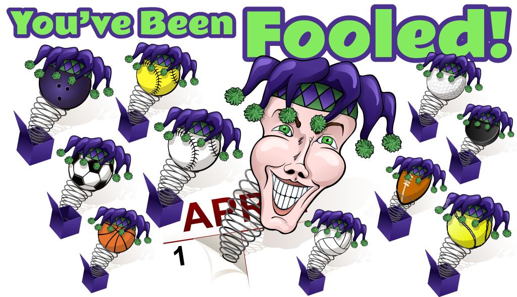 April fool Stickers