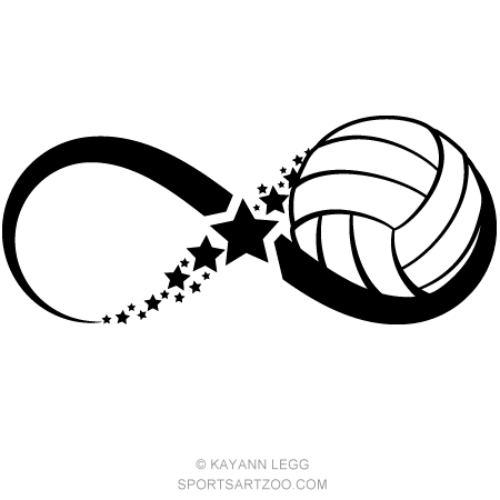 Volleyball Designs Sportsartzoo