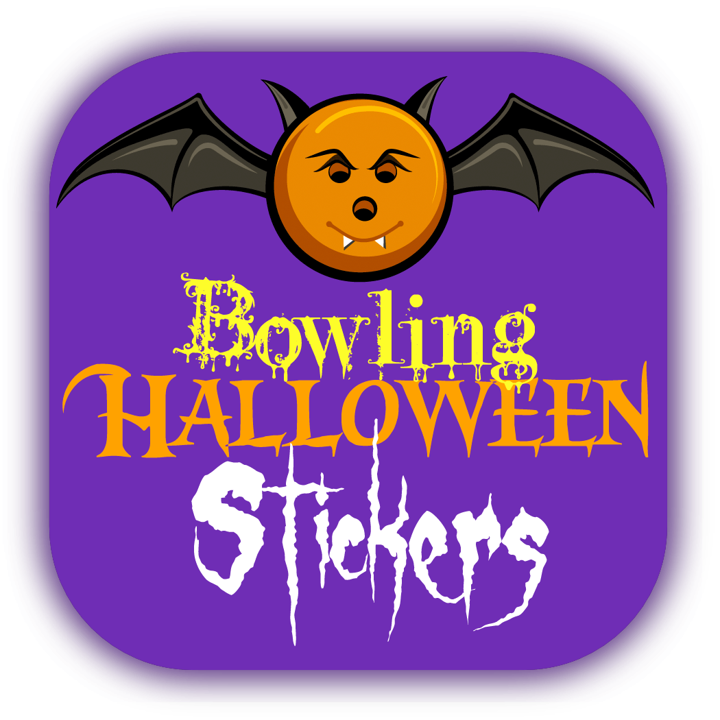 Bowling Halloween Stickers