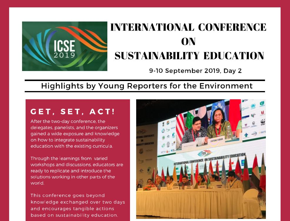 Click on the above image to read the full newsletter from Day 2 of the ICSE.