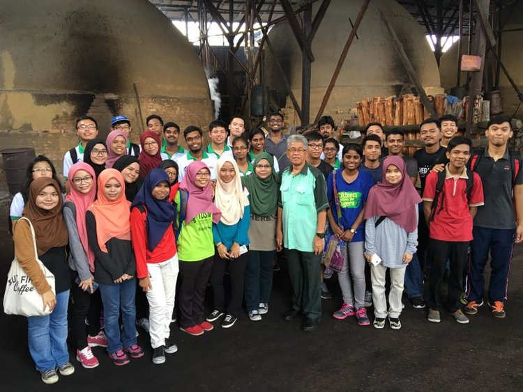 LEAF Malaysia visit the Matang Mangrove Forest
